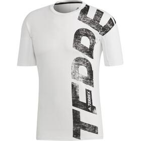 adidas TERREX Trail Cross Miehet Lyhythihainen paita , valkoinen
